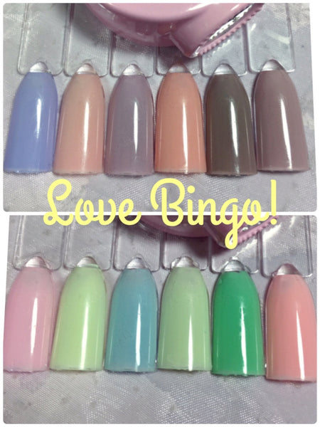 Love Bingo, Color changing (precious minerals)