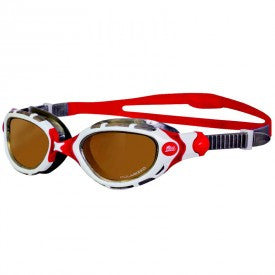 Zoggs Predator Flex Polarised Ultra Swimming Goggles – White