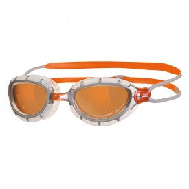 Zoggs Predator Polarised Ultra Swimming Goggles – Orange