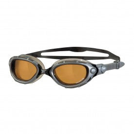 Zoggs Predator Flex Polarised Ultra Swimming Goggles – Silver