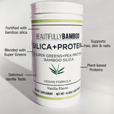 Benefits of Bamboo Silica Extract plus Protein