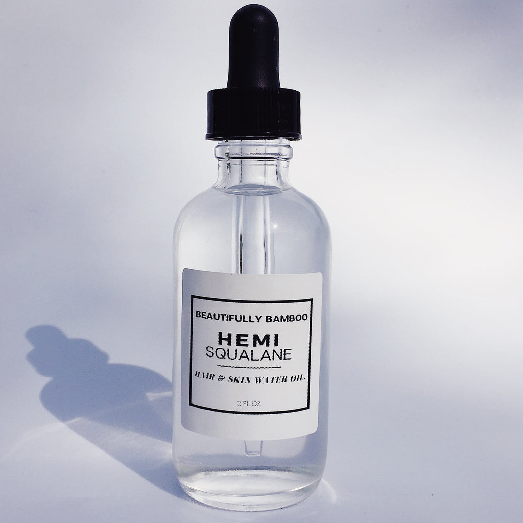 "Hemi Squalane - Ultra Lightweight Hair & Skin ""Water"" Oil"