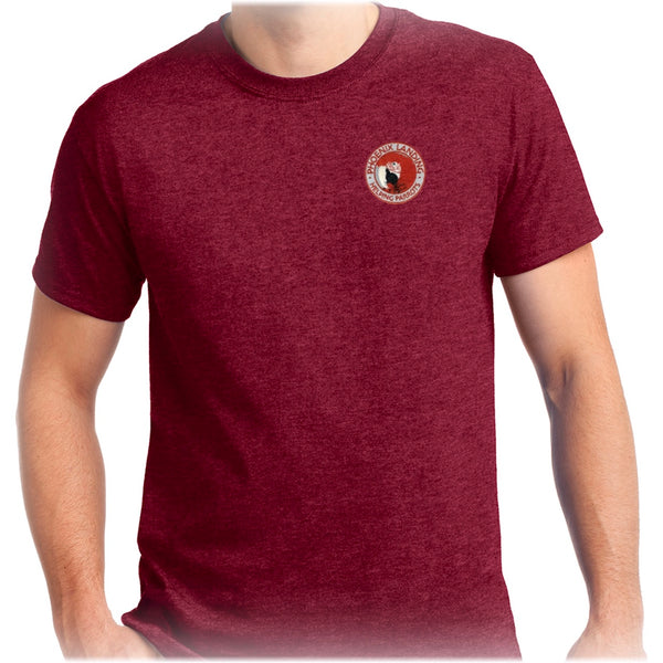 Short Sleeve Tee Shirt - Antique Cherry Red