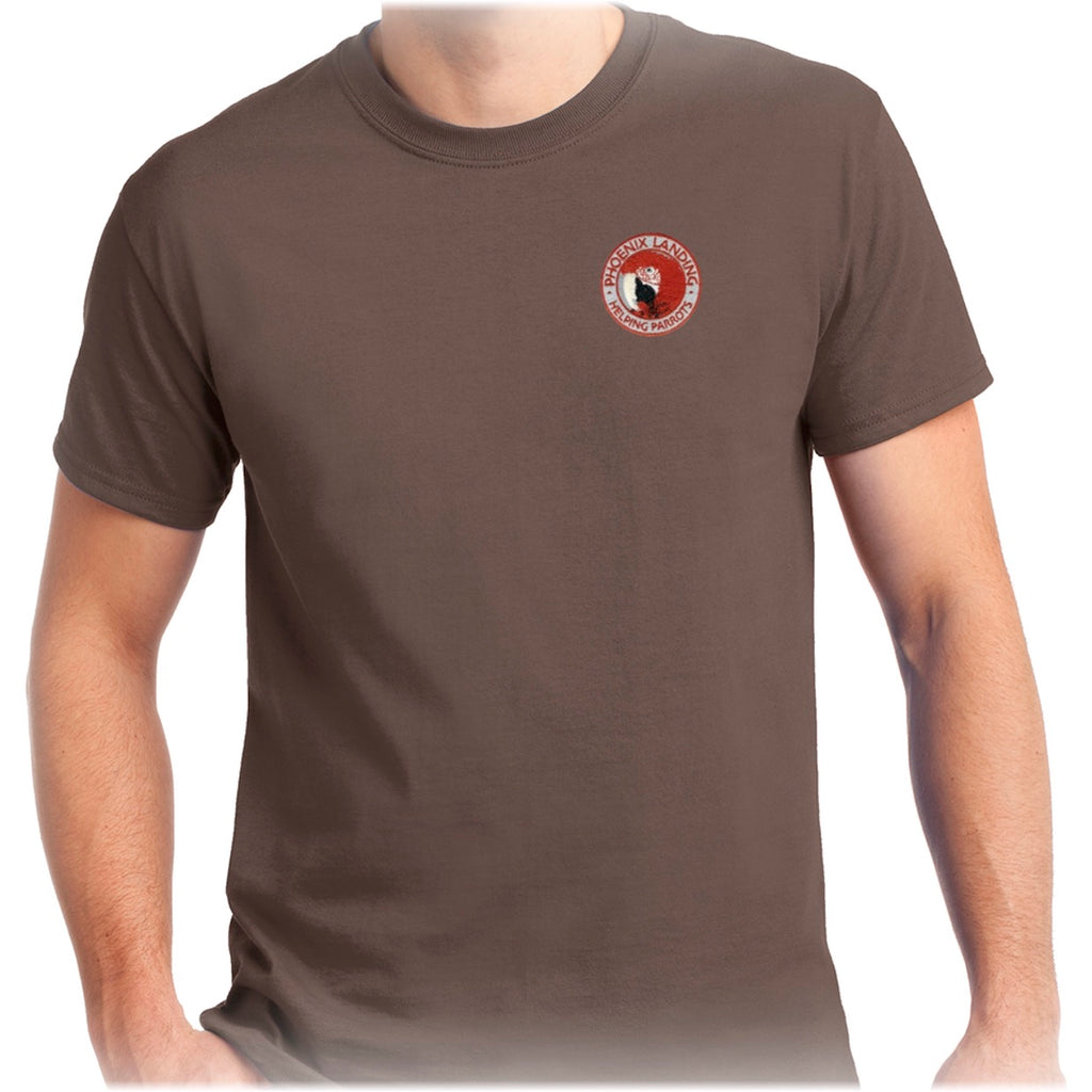 Short Sleeve Tee Shirt - Chestnut
