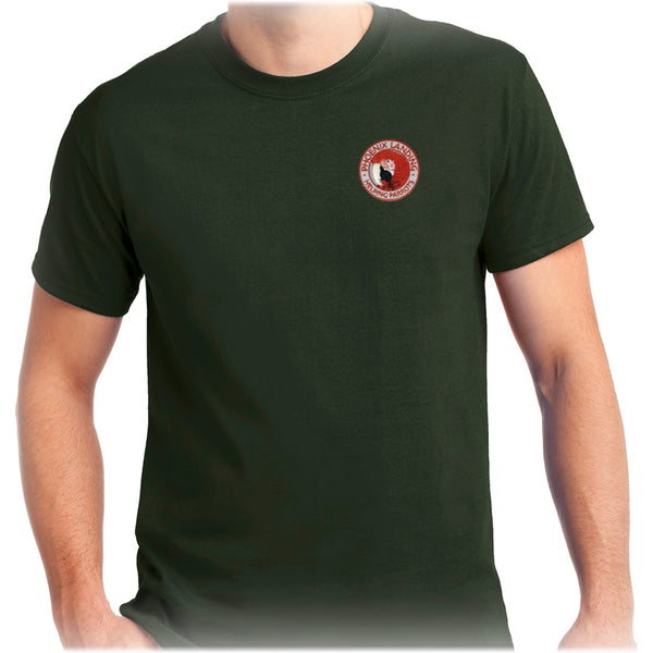 Short Sleeve Tee Shirt - Forest Green