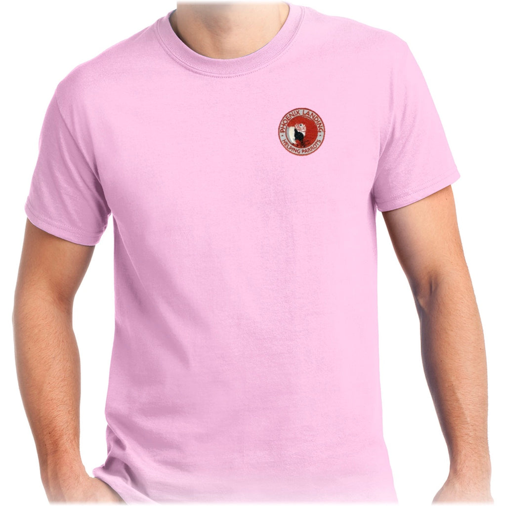 Short Sleeve Tee Shirt - Light Pink