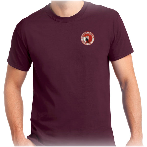 Short Sleeve Tee Shirt - Maroon