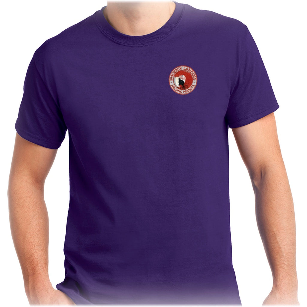 Short Sleeve Tee Shirt - Purple