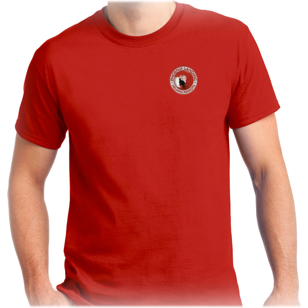 Short Sleeve Tee Shirt - Red