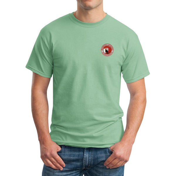 Short Sleeve Tee Shirt - Serene Green