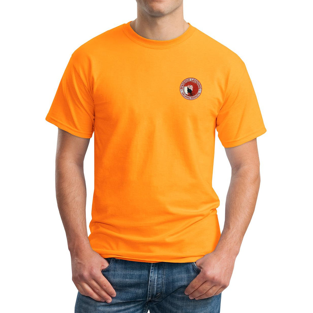 Short Sleeve Tee Shirt - Tangerine