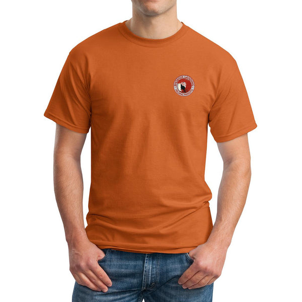 Short Sleeve Tee Shirt - Texas Orange
