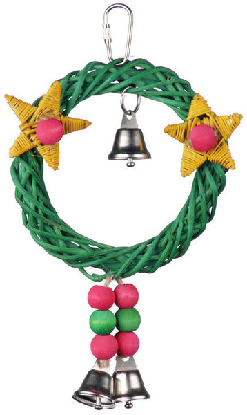 Christmas Wreath Vine Swing