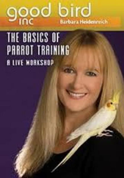 The Basics of Parrot Training - A Live Workshop