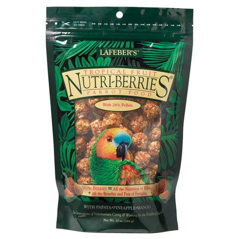 Tropical Fruit Nutri-Berries for Parrots