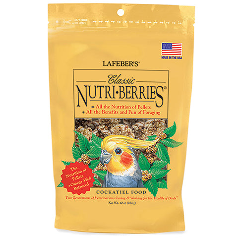 Cockatiel Nutri-Berries 10 oz