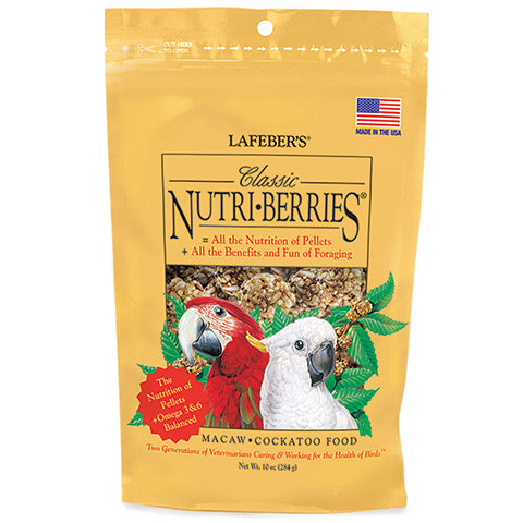 Macaw & Cockatoo Nutri-Berries 10 oz