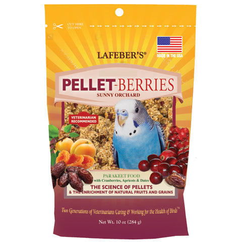 Pellet-Berries for Parakeets - 10 oz