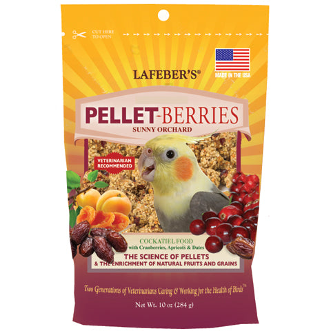 Pellet-Berries for Cockatiels - 10 oz