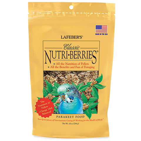 Nutri-Berries for Parakeets - 10 oz