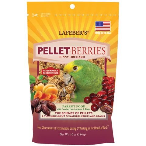 Pellet-Berries for Parrots - 10 oz