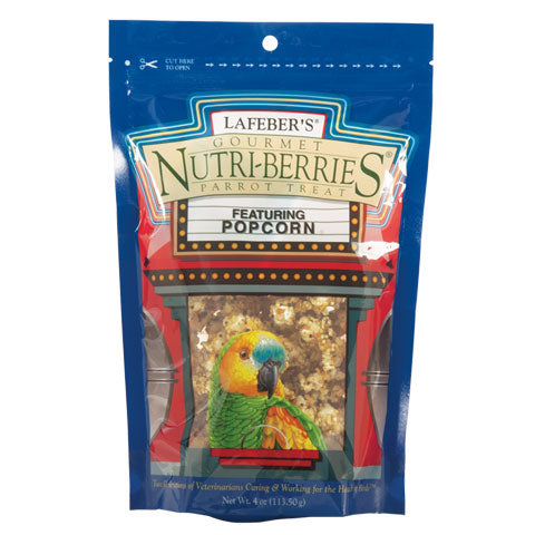 Popcorn Nutri-Berrie Treats for Parrots