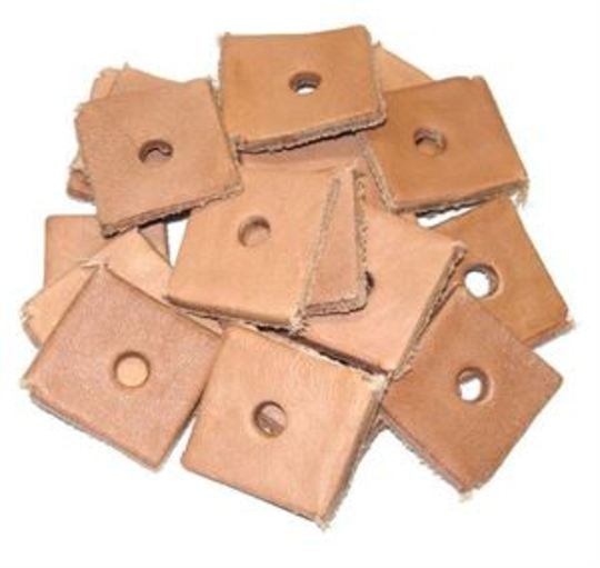 Leather Squares - 20 pcs