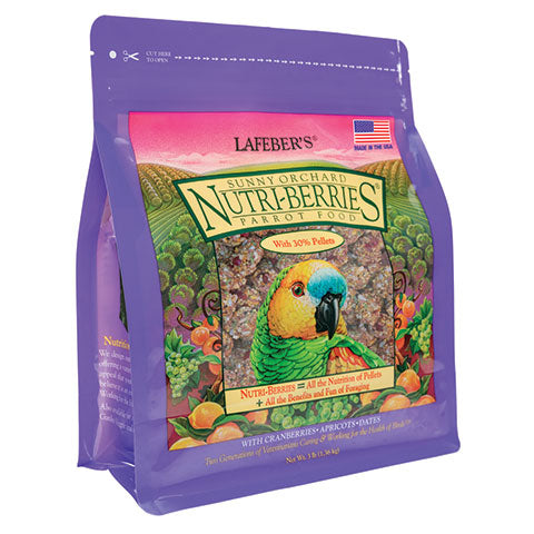 Sunny Orchard Nutri-Berries for Parrots - 3 lb