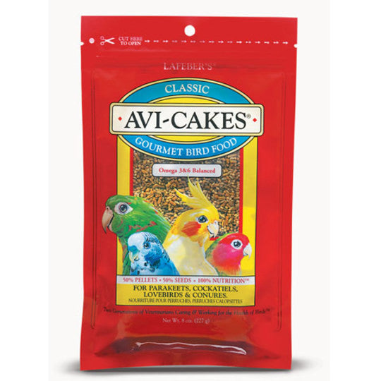 Classic Avi-Cakes for Small Birds - 8 oz