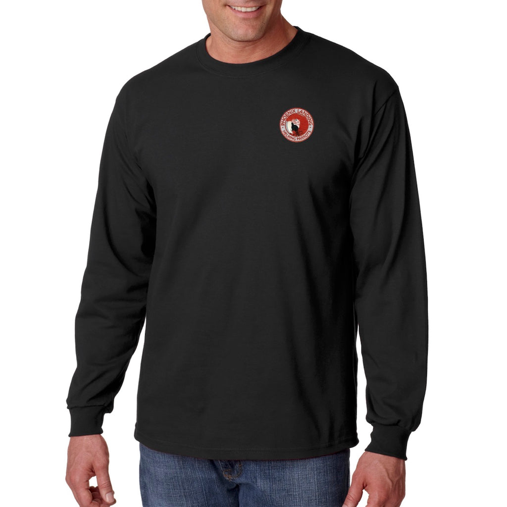 Long Sleeve Tee Shirt - Black