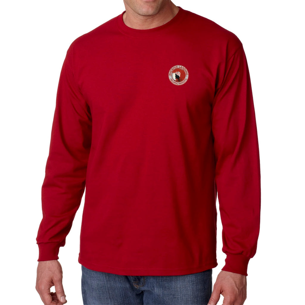 Long Sleeve Tee Shirt - Cardinal Red