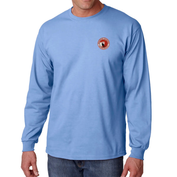 Long Sleeve Tee Shirt - Carolina Blue