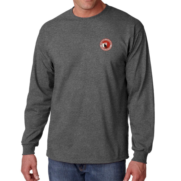 Long Sleeve Tee Shirt - Dark Heather
