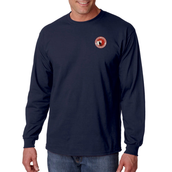 Long Sleeve Tee Shirt - Navy