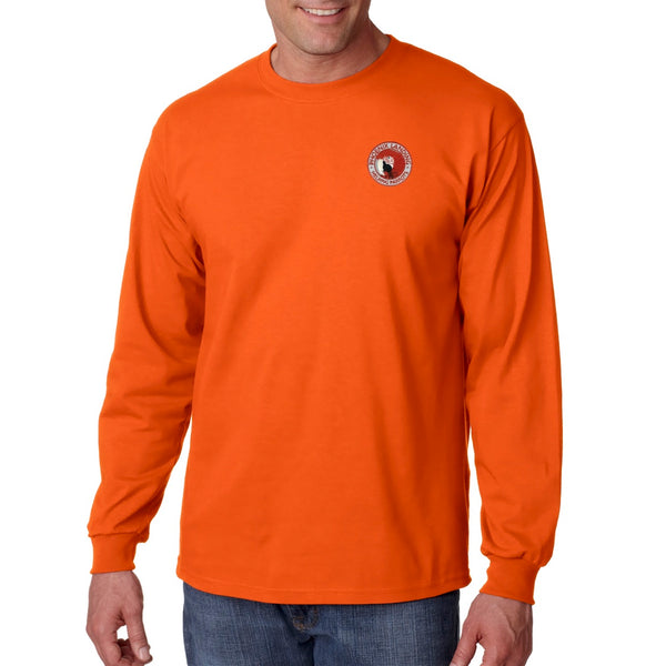 Long Sleeve Tee Shirt - Orange