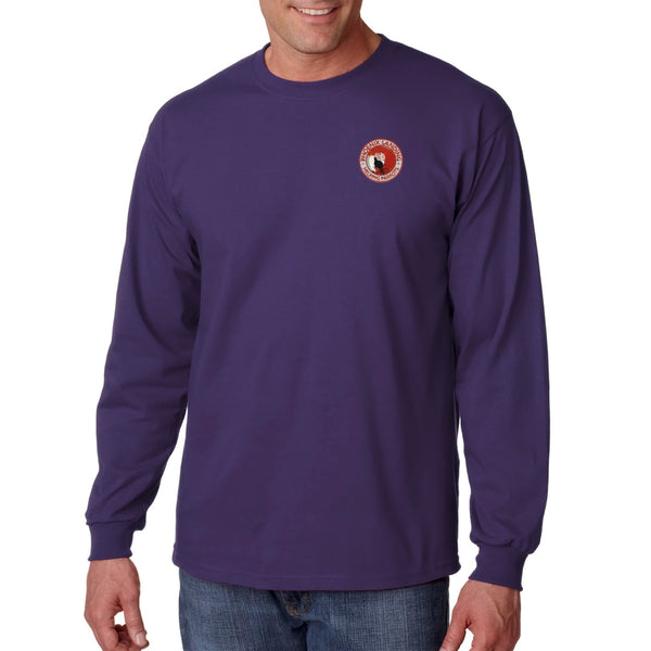 Long Sleeve Tee Shirt - Purple