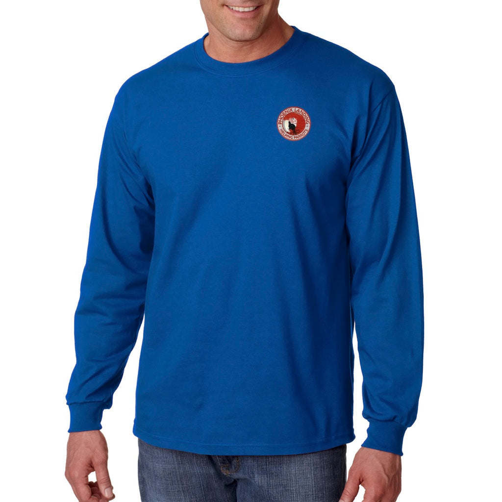Long Sleeve Tee Shirt - Royal