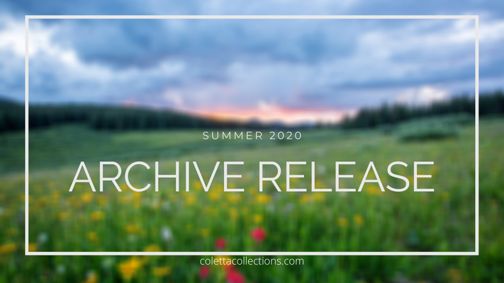 Coletta Collections Archive Release