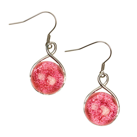 Aphrodite Blush Drop Earrings