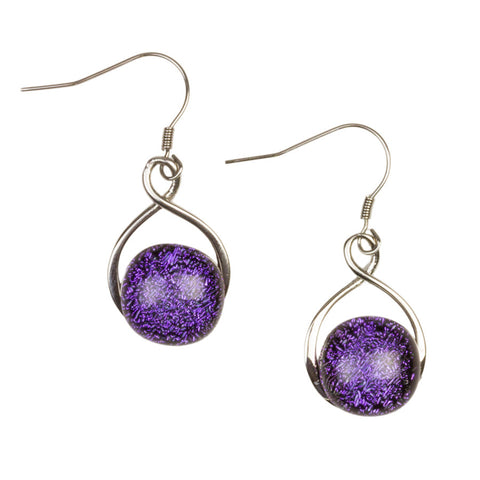 Aphrodite Lilac Drop Earrings