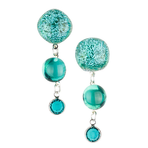 Bela Opal Drop Earrings
