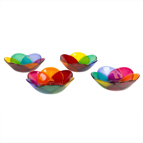 Lotus Petal Bowls- Set of 4