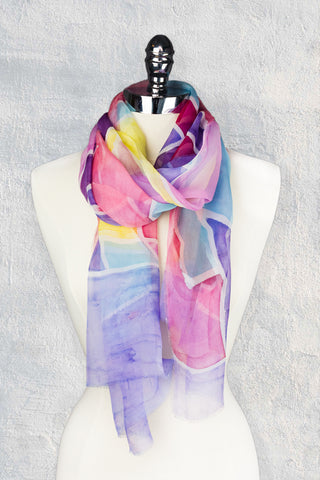 Fustat Painted Scarf