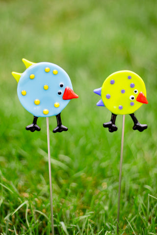 Birds Garden Stake- Set of 2