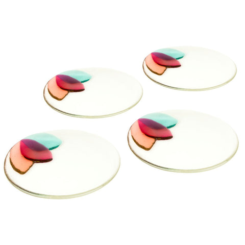 Acer Petal Appetizer Plates- Set of 4