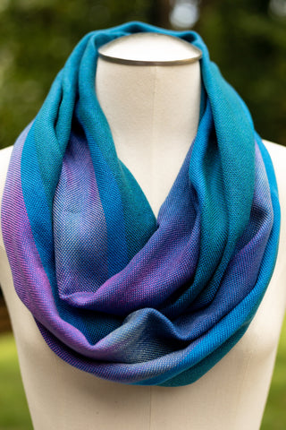 Teals Infinity Scarf