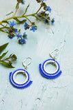 Belle Blue Drop Earrings