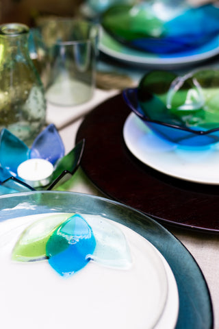 Lily Pad Petal Appetizer Plate