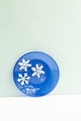 Snow Appetizer Plate