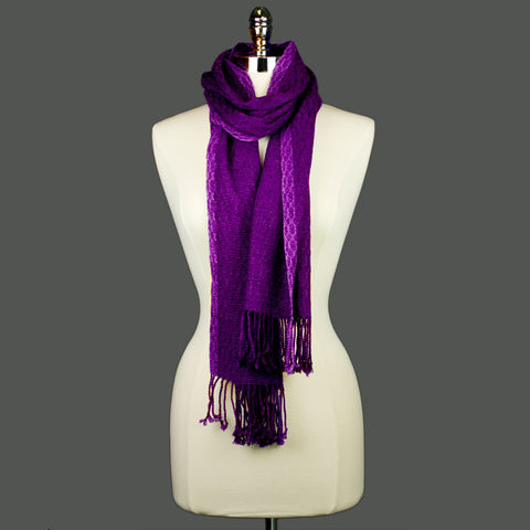 Deep Purple Scarf
